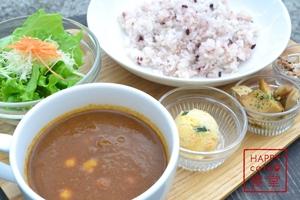 ヒヨコ豆とトマトのカレー